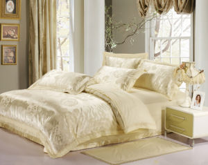 Luxurious Silk Comfortable Quilt Bedding Set pictures & photos