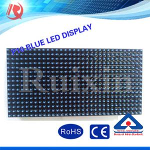 P10 Pixel 10mm Blue Color Outdoor LED Display Module pictures & photos