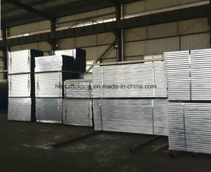 Standard Best Metal Plank, Mobile Construction Scaffold 210mm*45mm*1000mm*1.8mm 2.0mm pictures & photos