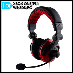 Wired Headphone Mic for PS4 xBox One Wii Game Console pictures & photos