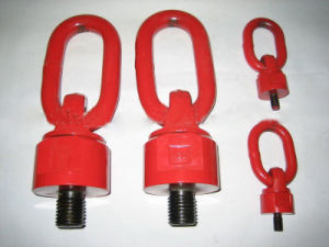 Forged Alloy Steel Grade 80 Lifting Swivel Lifting Screw Point pictures & photos