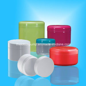 Smooth Bright Surface Plastic Cosmetic Jar Wholesale