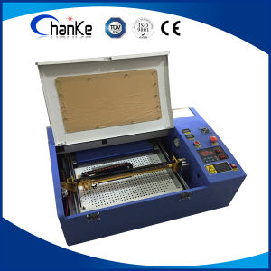 Small Desktop Laser Cutting Machine for Rubber Stamp pictures & photos