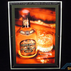 Alcohol Advertising Crystal LED Light Box pictures & photos