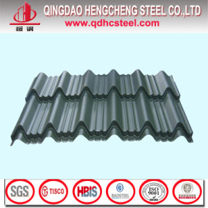 China PPGI Color Coated Galvanized Roofing Sheet pictures & photos