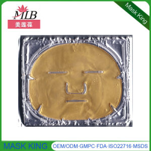 Anti Wrinkle Face Firming 24k Gold Collagen Crystal Face Lift Mask for Skin Care pictures & photos