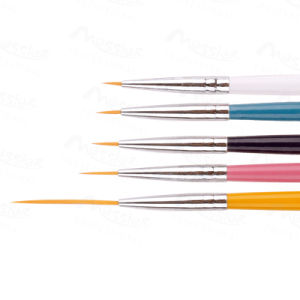 5PCS Nail Art Design DIY Acrylic Drawing Painting Striping 0# 00# 000# 0000# 00000#UV Gel Pen Brush Set
