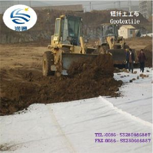 Good Creep Property and Hydraulics Property Nonwoven Geotextile Fabric Low Price pictures & photos
