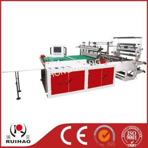 High-Speed Double Lines Plastic Bag Making Machine pictures & photos