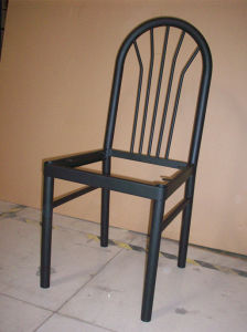 Upholstered Steel Round Tube Frame Chair pictures & photos