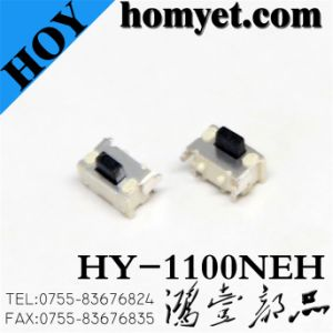 High Quality Tact Switch/Mini SMT Switch (HY-1100ENH) pictures & photos