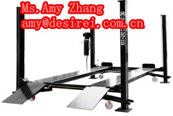 Ce Four Post One Cylinder Hydraulic Electric Release Car Parking Lifter/Car Parking Lift