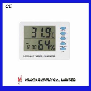 Digital Thermometer with Clock and Hygrometer (HX-121)