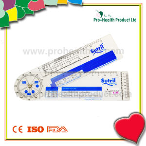 PVC Plastic Cardiogram Ruler Medical Ruler pictures & photos