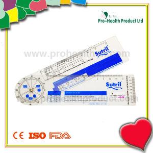 PVC Plastic Cardiogram Ruler pictures & photos