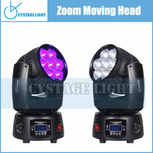 Hot Selling 7X12.8W Zoom Moving Head