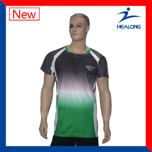 Dye Clothes Sublimation T-Shirts Printed T-Shirt Sportswear pictures & photos