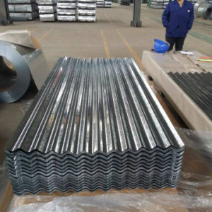 Dx51d PPGI Prepainted Galvanized Corrugated Roofing Steel Sheet 0.24mm pictures & photos