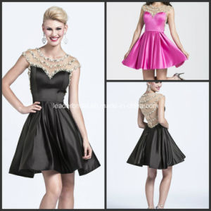 Mini Homecoming Gowns Beads A-Line Cocktail Dresses Y2021 pictures & photos