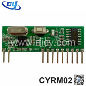 Super Heterodyne RF Decoding Hc301 433 Wireless Receiver (CYRM02)