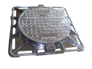 Sewerage En124 Ductile Cast Iron Heavy Duty Manhole Covers pictures & photos