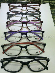Low Price High Quality Full Rim Acetate Optical Frame in Stocked