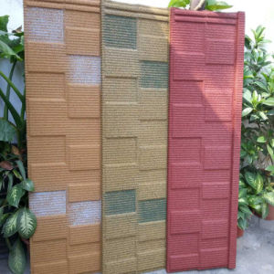 Popular Colorful Stone Coated Steel Roofing Tile pictures & photos
