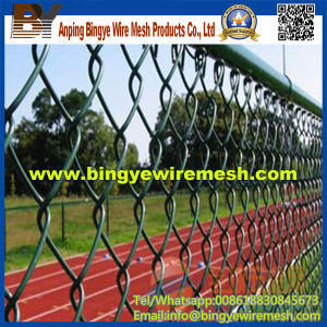 PVC Coated Chain Link Fence China Factory pictures & photos