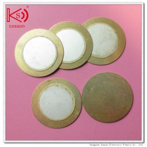 6000Hz Piezo 20mm Brass Disk Element Buzzer