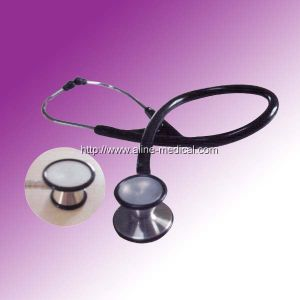 ISO Stainless Steel Dual Mask Stethoscope (MA223) pictures & photos