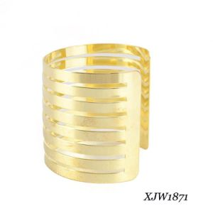 Fashion Iron Gold Plating Big Bangle (XJW1871) pictures & photos