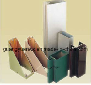 6061 T6 Powder Coated Aluminum Tube Profile pictures & photos