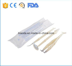 Disposable Dental Instrument Kit with 3 Parts pictures & photos
