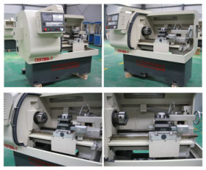 Flat Bed CNC Lathe / Horizontal CNC Lathe pictures & photos