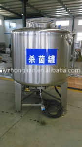 BS1000 High Quality 1000L Stainless Steel Pasteurizer Sterilization Equipment pictures & photos