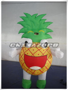 Vivid Appearance Inflatable Pineapple Moving Cartoon