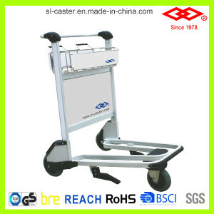 Stainless Steel Luggage Trolley (GJ-150) pictures & photos