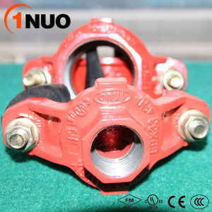 Low Price Ductile Iron Grooved Pipe Fittings Mechanical Tee pictures & photos
