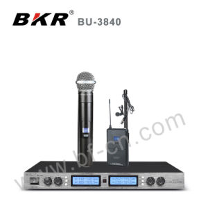 Bu-3840 Stable UHF Wireless Meeting Microphone System pictures & photos