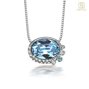 Crystal Pendant with Chains (OLYN037)