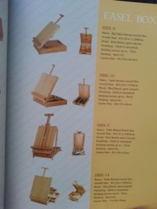 Box Easel (E2060) pictures & photos