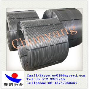 Calcium Ferrum Alloy Cored Wire Diameter 13mm to Purify Liquid Steel pictures & photos