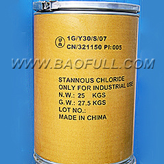 Dry Hydrogen Chloride Gas on Tin Metal Stannous Chloride Sncl2 pictures & photos