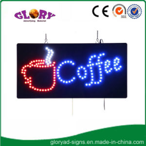 LED Coffee Sign LED Open Sign for Coffee Shop pictures & photos