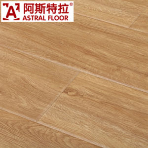 12mm HDF AC3 AC4 High Gloss Laminate Flooring Easy Click/High Gloss Laminate Flooring (U-Groove) pictures & photos