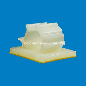 Plastic Nylon Adhesive Cable Clamp pictures & photos