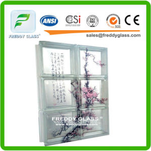 Colored Acid Cloudy Clear, Acid Direct Clear, Clear, Cloudy, Crystal, Parallel, Cycle Rhombus, Diamond, Diamond, Diagonal, Double Star Glass Block/Brick pictures & photos