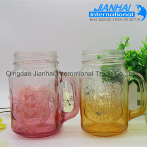 Glass Jar Wholesale Colorful Glass Mason Jar pictures & photos