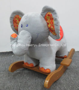 Factory Supply Rocking Animal-Stuffed Elephant Rocker pictures & photos