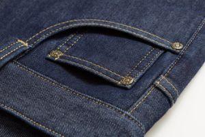 D822 Winter Thick Fleece Trousers Men Jeans pictures & photos